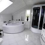 Beautiful attic bathroom remodeling project.  bathroom remodeling tampa 75